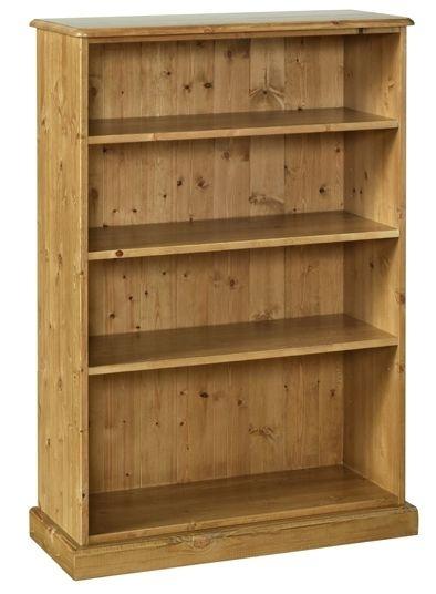Devonshire Torridge Pine Narrow Bookcase