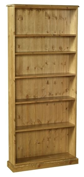 Devonshire Torridge Pine Tall Bookcase