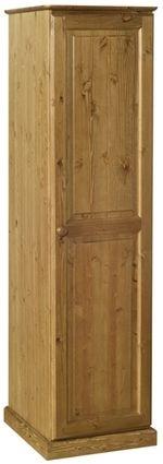 Devonshire Torridge Pine Single Wardrobe - 1 Door