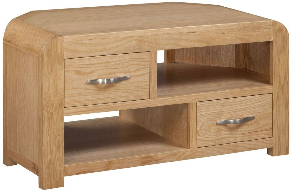Devonshire Verona Oak TV Unit - Corner