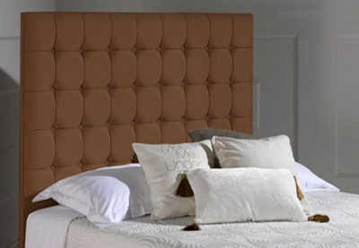 Dormeo Octaspring Venice Chocolate Fabric Headboard