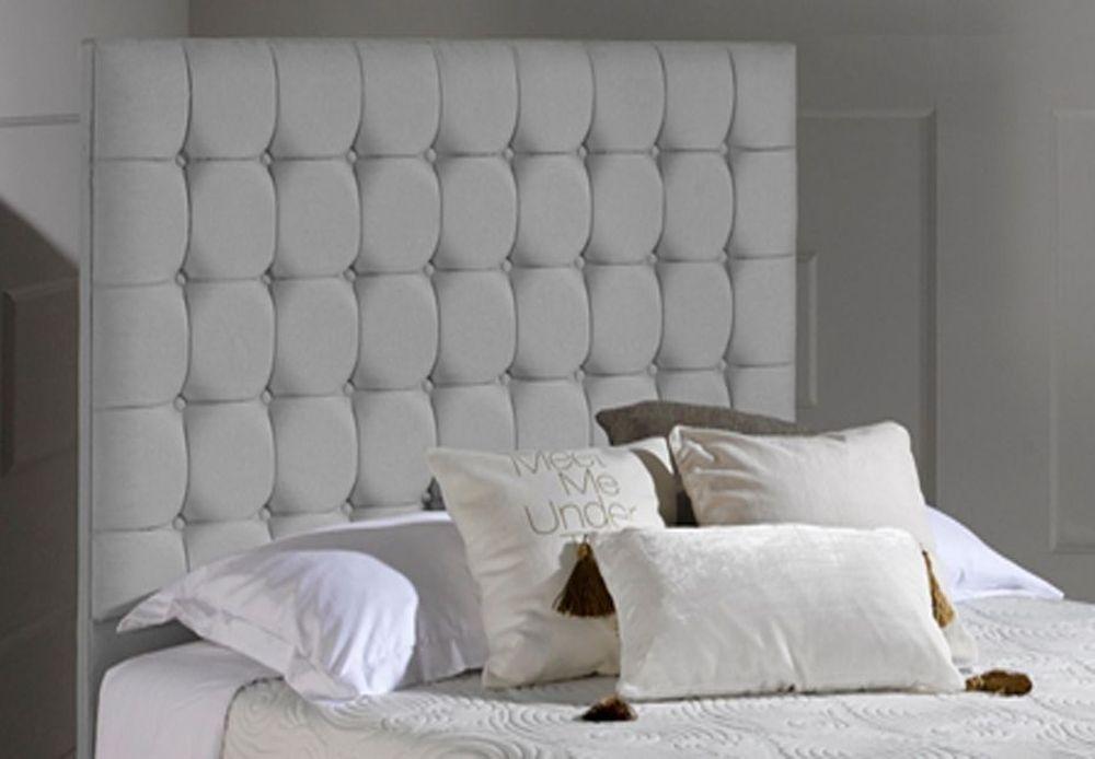 Dormeo Octaspring Venice Cayenne Grey Fabric Headboard
