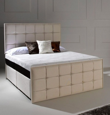 Dormeo Octaspring Loire Fabric Divan Bed with 6500 Mattress