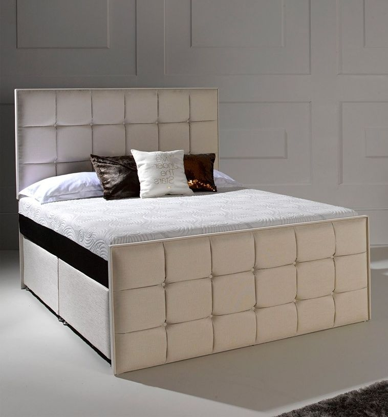 Buy Dormeo Octaspring Loire Fabric Divan Bed With 8500 Mattress Online Cfs Uk