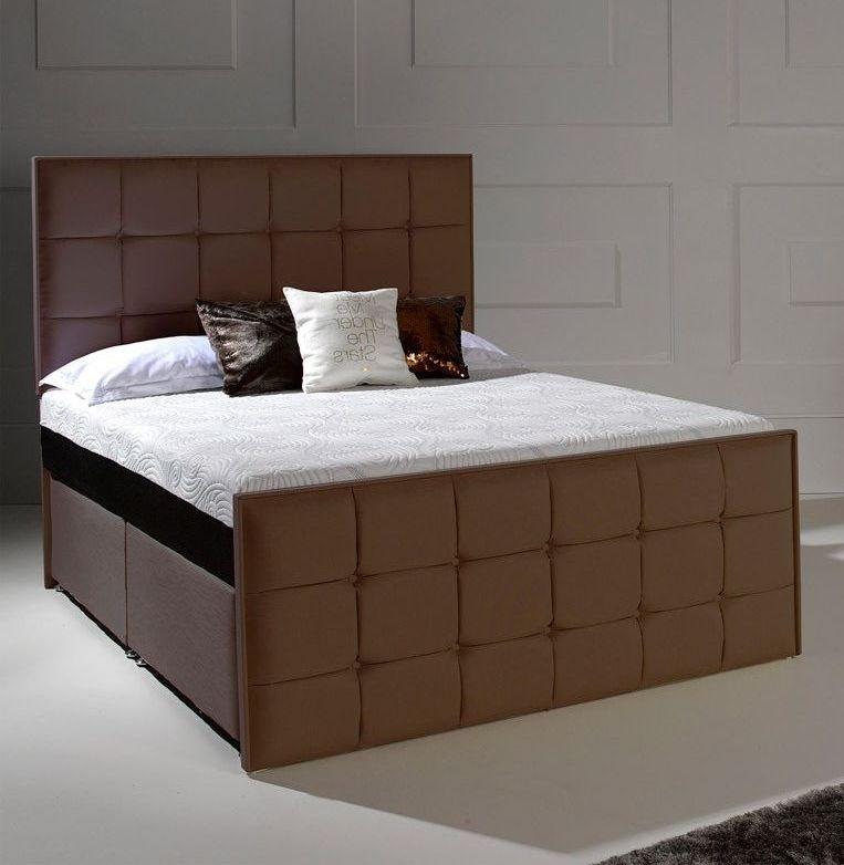 Dormeo Octaspring Loire Fabric Divan Bed with Hybrid Mattress