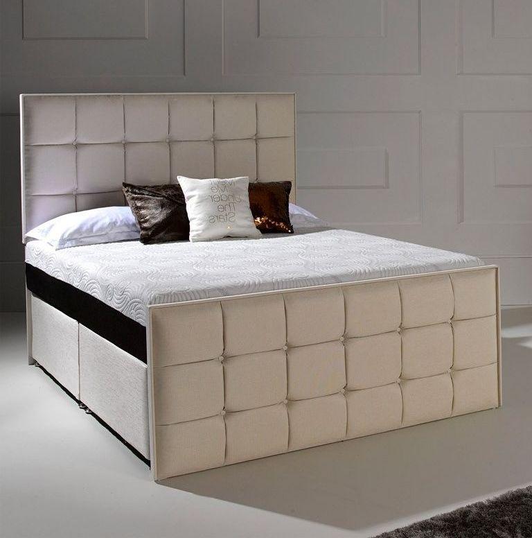 Buy Dormeo Octaspring Loire Fabric Divan Bed With Tribrid Mattress Online Cfs Uk