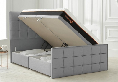 Dormeo Octaspring Loire Ottoman Fabric Divan Bed with 9500 Mattress