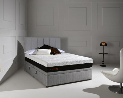 Dormeo Octaspring Ottoman Fabric Divan Bed with 6500 Mattress