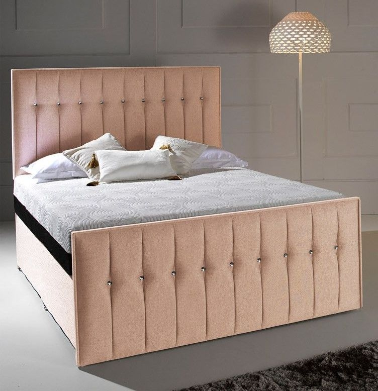 Dormeo Octaspring Revive Fabric Divan Bed with Hybrid Plus Mattress