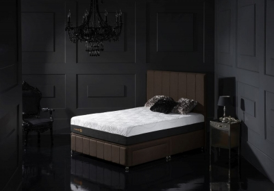 Dormeo Octaspring Roma Fabric Divan Bed with 9500 Mattress