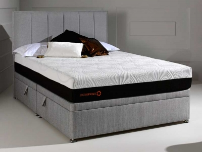 Dormeo Octaspring Tiffany Fabric Divan Bed with 8500 Mattress