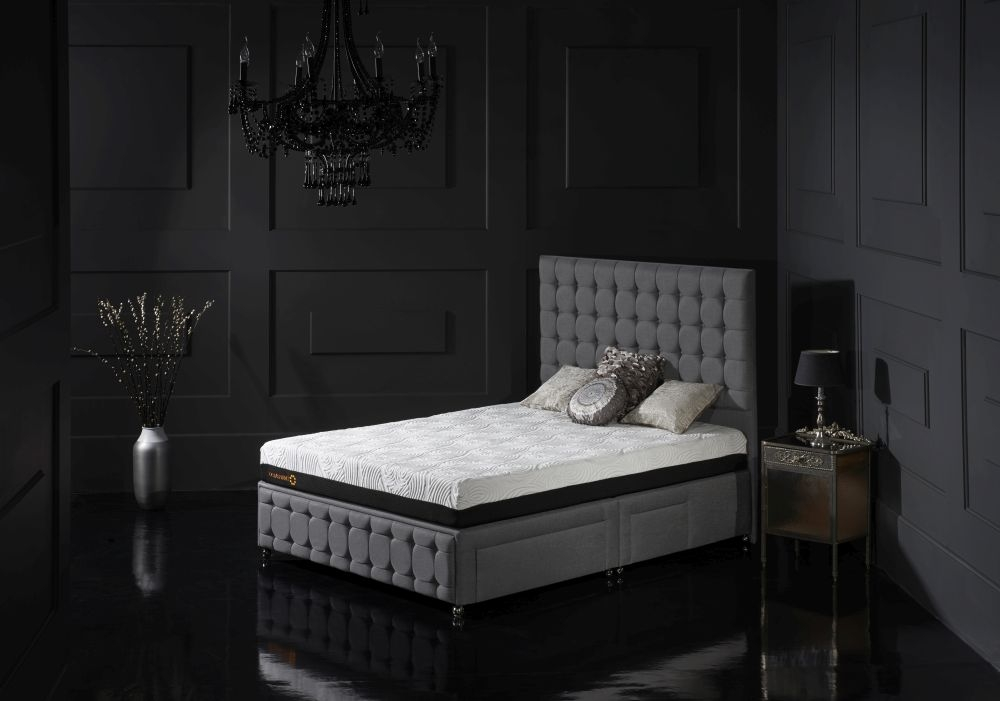 Dormeo Octaspring Venice Fabric Divan Bed with 9500 Mattress