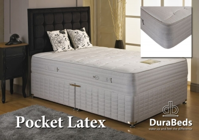Dura Beds Pocket Latex 1000 Divan Bed