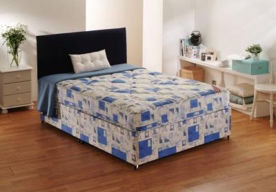 Dura Beds Light Brown Windsor Deep Quilted Divan Bed