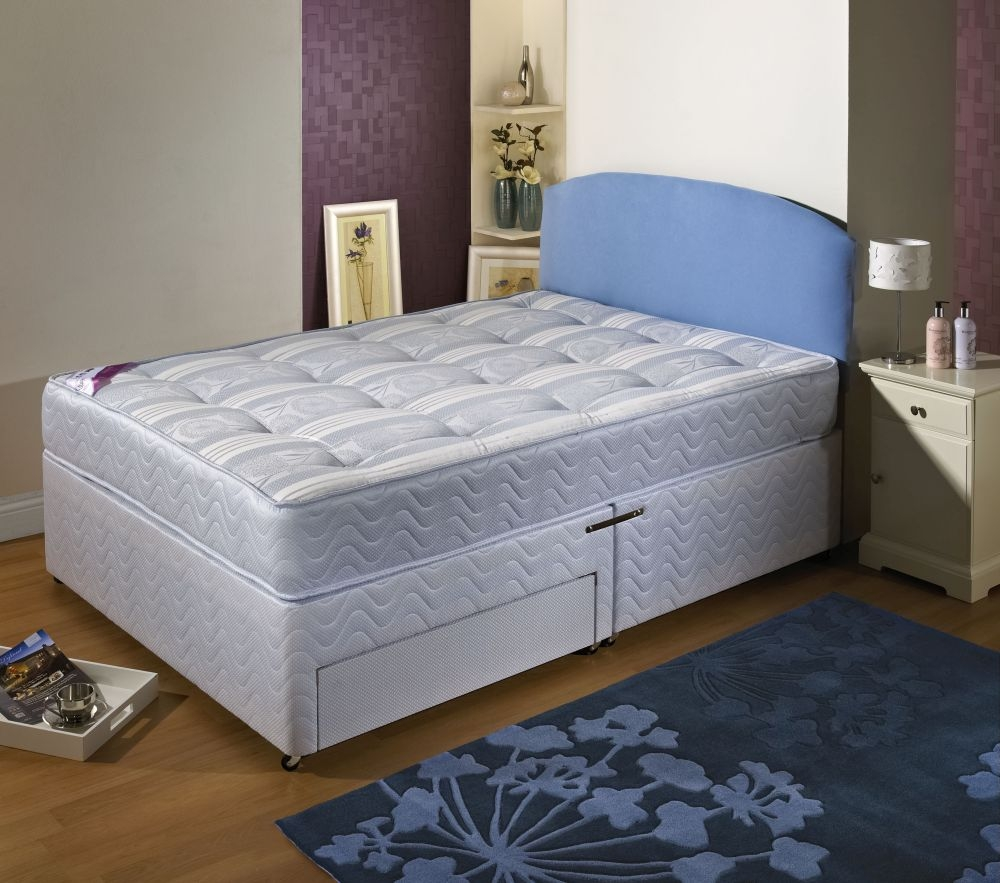Dura beds ashleigh divan bed dura beds for Divan beds uk