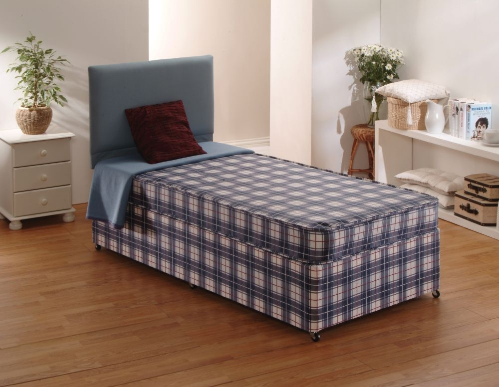 Dura Beds Budget Divan Bed - 3ft Single