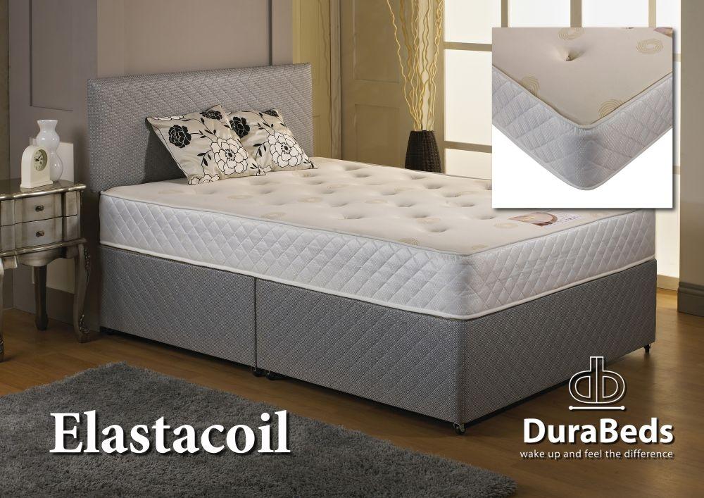Buy Dura Beds Elasta Coil Divan Bed Online Cfs Uk