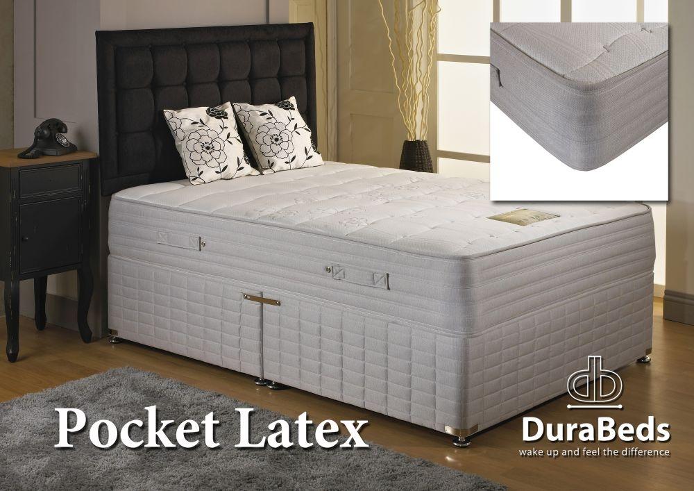 Dura Beds Pocket Latex 1000 Divan Bed
