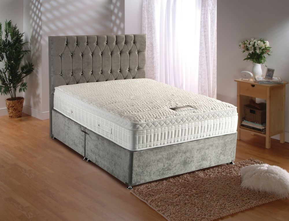 Durabed silver active 2800 dura pocket divan bed cfs uk for The range divan beds