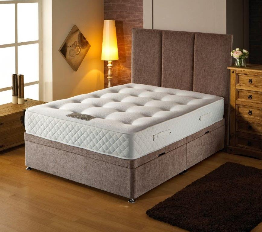 Dura Beds Ottoman Bed with Mattress