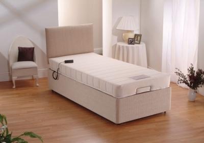 Dura Beds Memory Foam Electric Adjustable Divan Bed