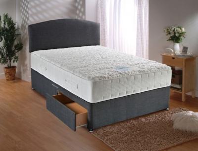 Dura Beds Sensacool 1500 Pocket Spring Deluxe Sprung Edge Divan Bed