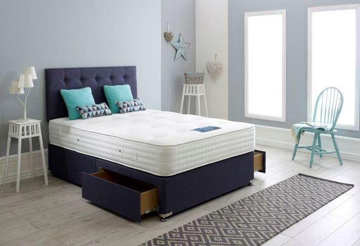 Dura Beds True Seasons Silk 2000 Pocket Spring Platform Top Divan Bed
