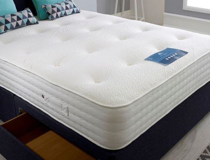Dura Beds True Seasons Silk 2000 Pocket Spring Mattress