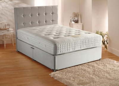 Dura Beds Grand Luxe 2000 Pocket Spring Deluxe Platform Top Divan Bed