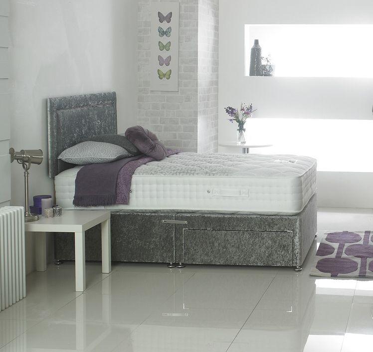 Dura Beds Cirrus Luxury 2000 Pocket Spring Platform Top Divan Bed