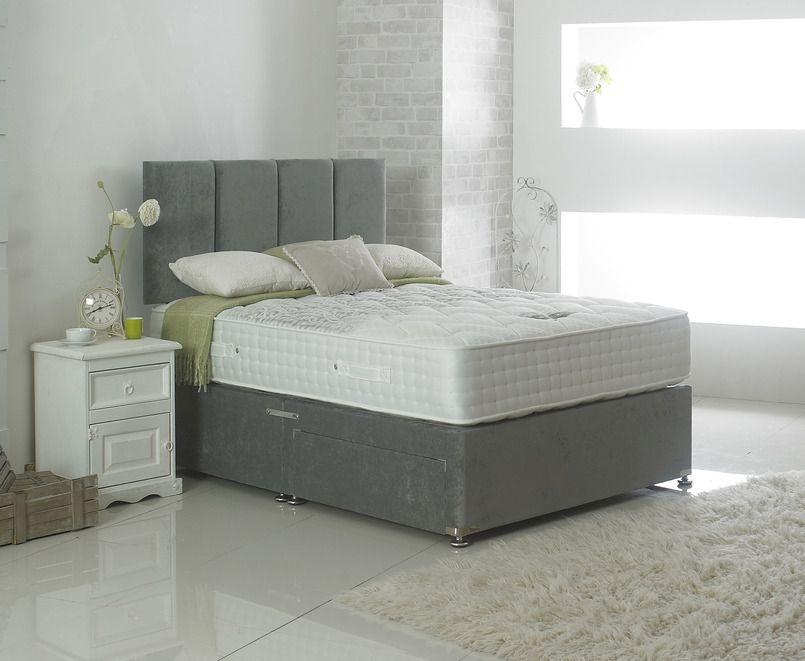 Dura Beds Nimbus Luxury 1000 Pocket Spring Platform Top Divan Bed