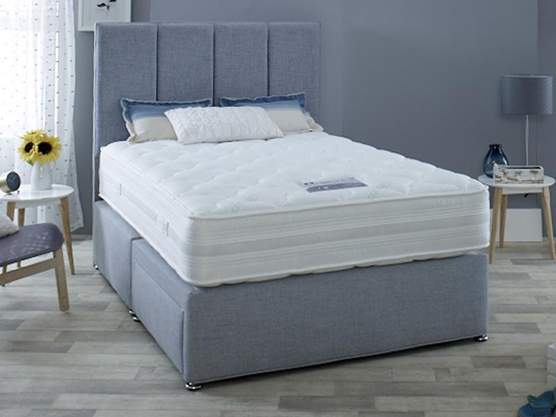 Dura Beds Climate Control 1000 Pocket Spring Platform Top Divan Bed