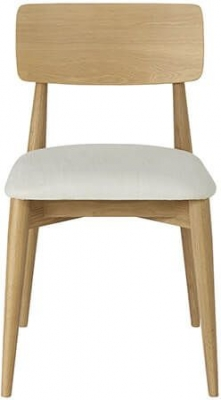 Ercol Askett Oak Low Dining Chair