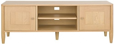 Ercol Askett Oak TV Unit
