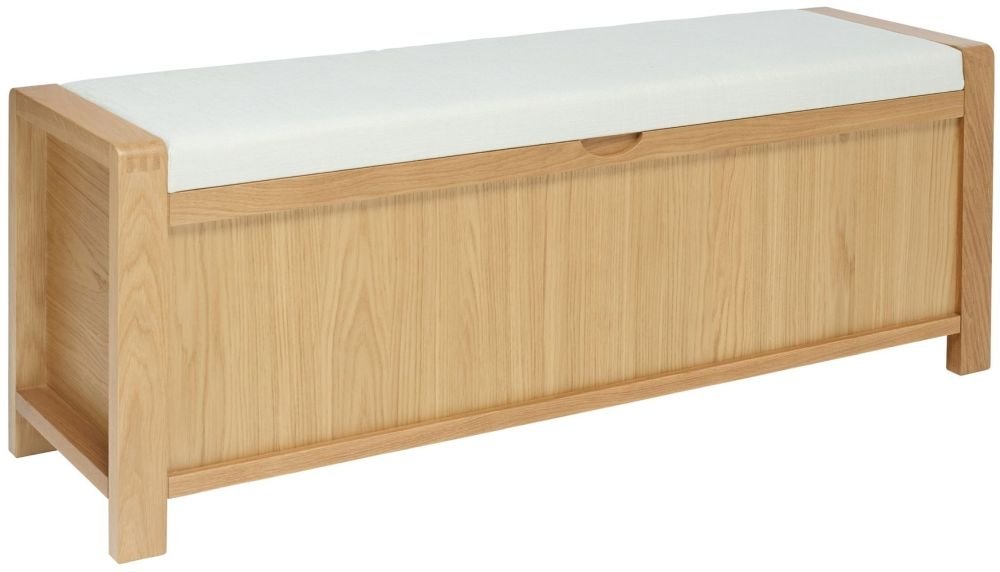 Swell Ercol Bosco Oak Storage Bench Short Links Chair Design For Home Short Linksinfo