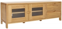 Ercol Bosco Oak Wide TV Unit