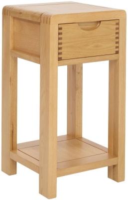 Ercol Bosco Oak Compact Side Table