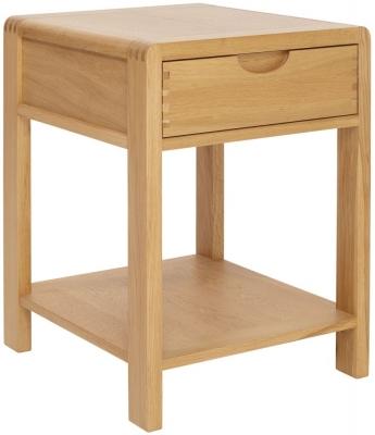 Ercol Bosco Oak Lamp Table