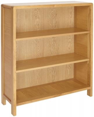 Ercol Bosco Oak Low Bookcase