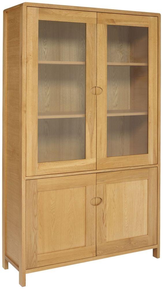 Ercol Bosco Oak Display Cabinet