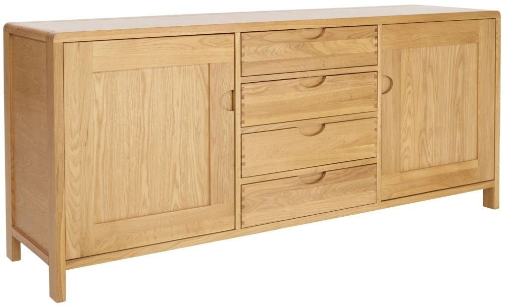 Ercol Bosco Oak Large Sideboard