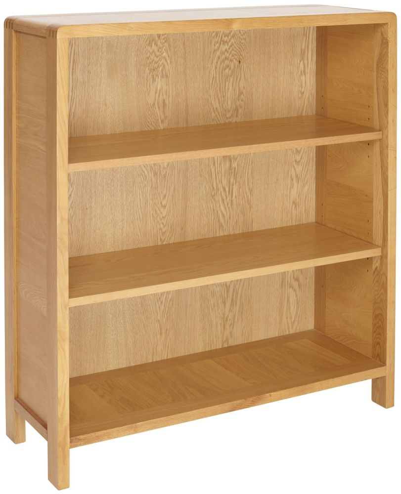 Ercol Bosco Oak Low Bookcase