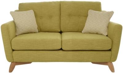 Ercol Cosenza 2 Seater Small Fabric Sofa