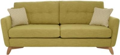 Ercol Cosenza 4 Seater Large Fabric Sofa