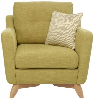 Ercol Cosenza Fabric Armchair