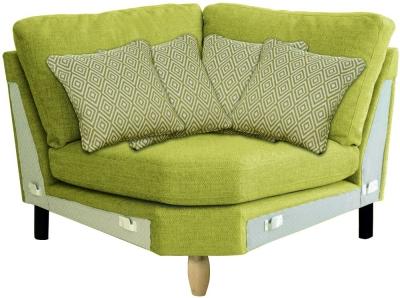 Ercol Cosenza Curved Corner Fabric Sofa Unit