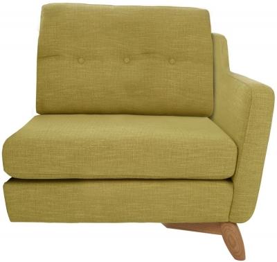 Ercol Cosenza Right Hand Facing Small Fabric Sofa Unit