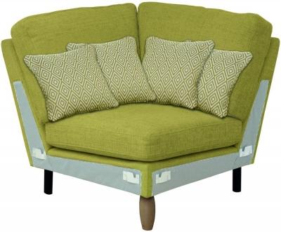 Ercol Cosenza Square Corner Fabric Sofa Unit