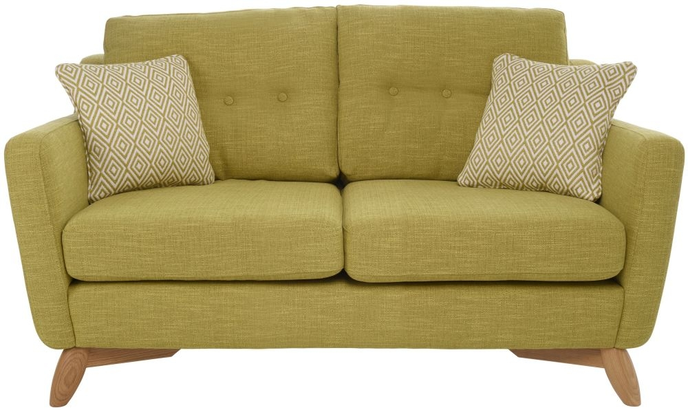 Ercol Cosenza 2 Seater Small Fabric Sofa