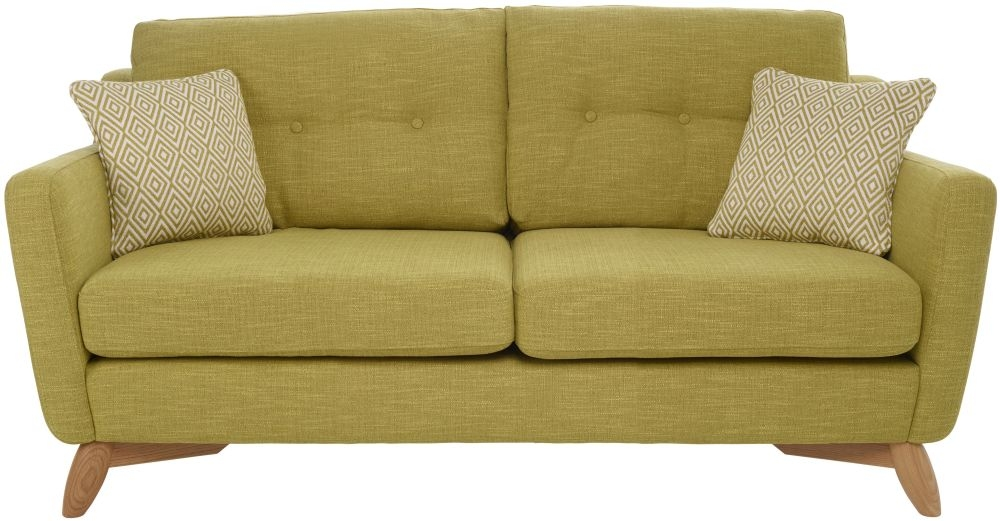 Ercol Cosenza 3 Seater Fabric Medium Sofa